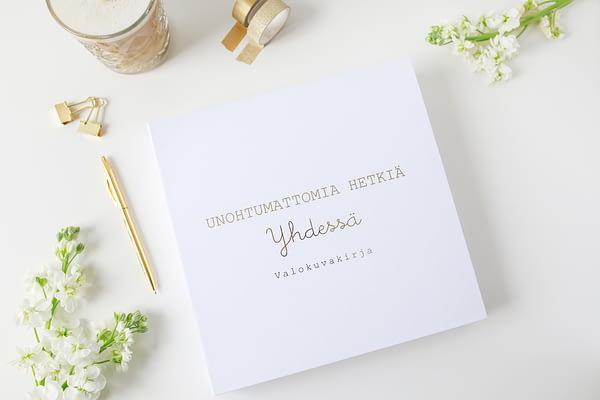 Valkoinen Valokuva-albumi